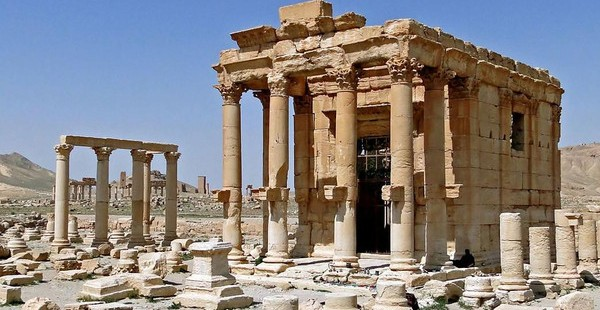Baal Shamin temple, palmyra