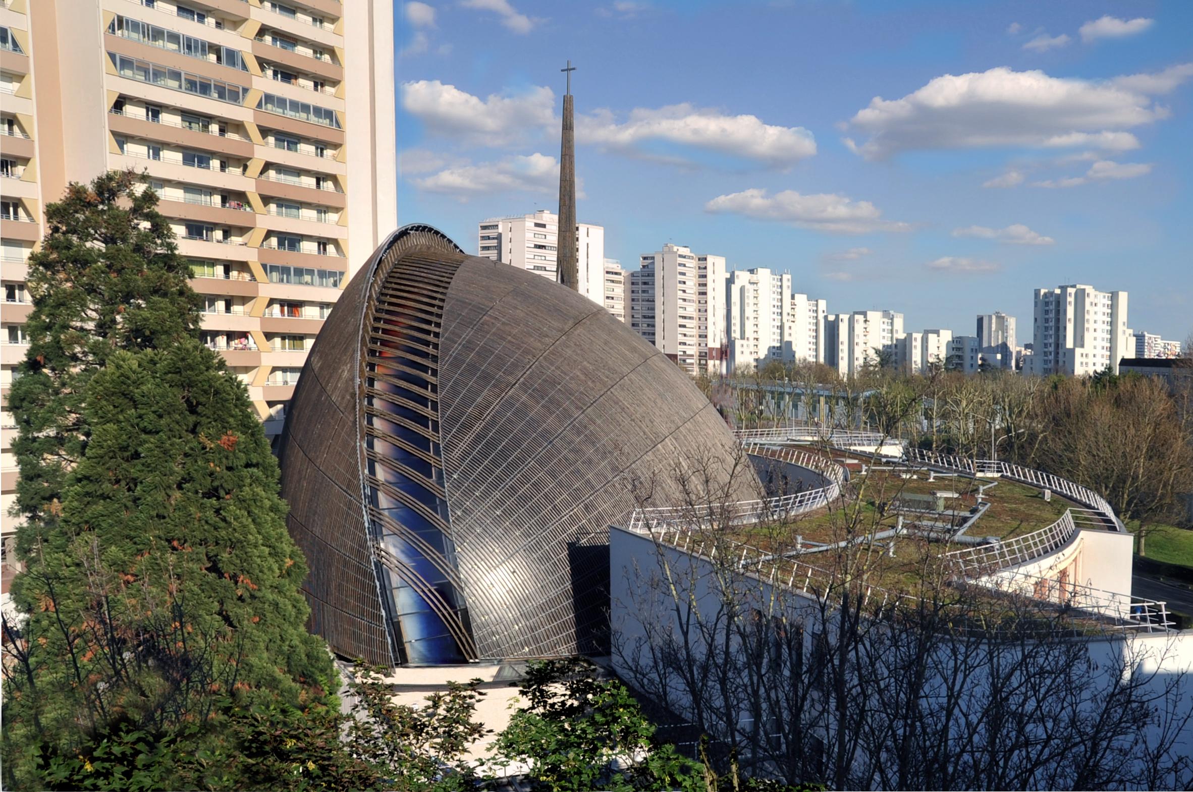 94 - Cathédrale de Créteil - credits Yves Mernier @ Architecture-Studio