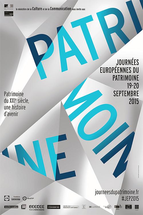 Les journées européennes du patrimoine auront lieu les 19 et 20 septembre 2015