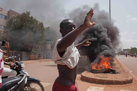 Le coup de force a entraîné des mouvements de protestation dans les rues de Ouagadougou