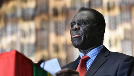 Le président Michel Kafando