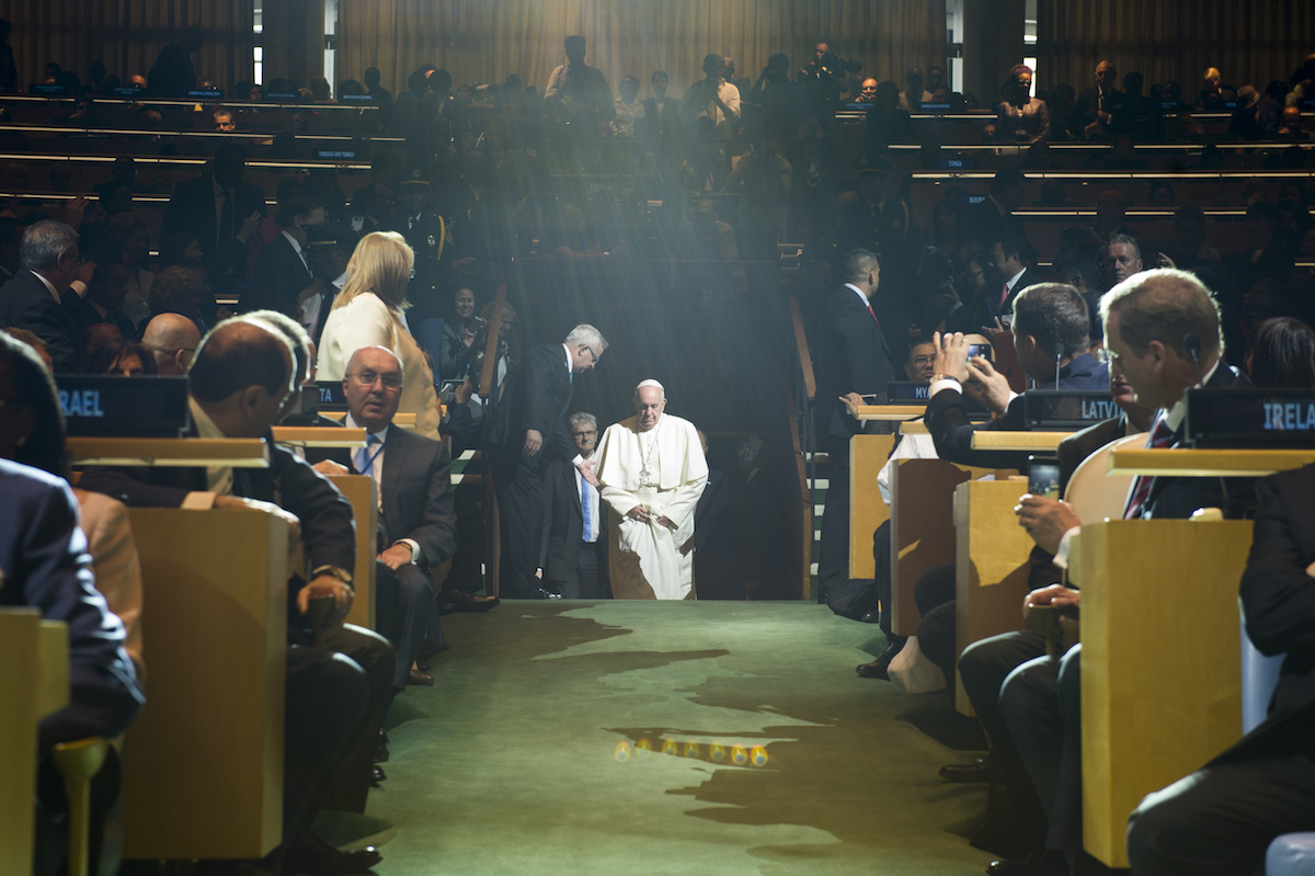 Visit of His Holiness Pope Francis to the United Nations.