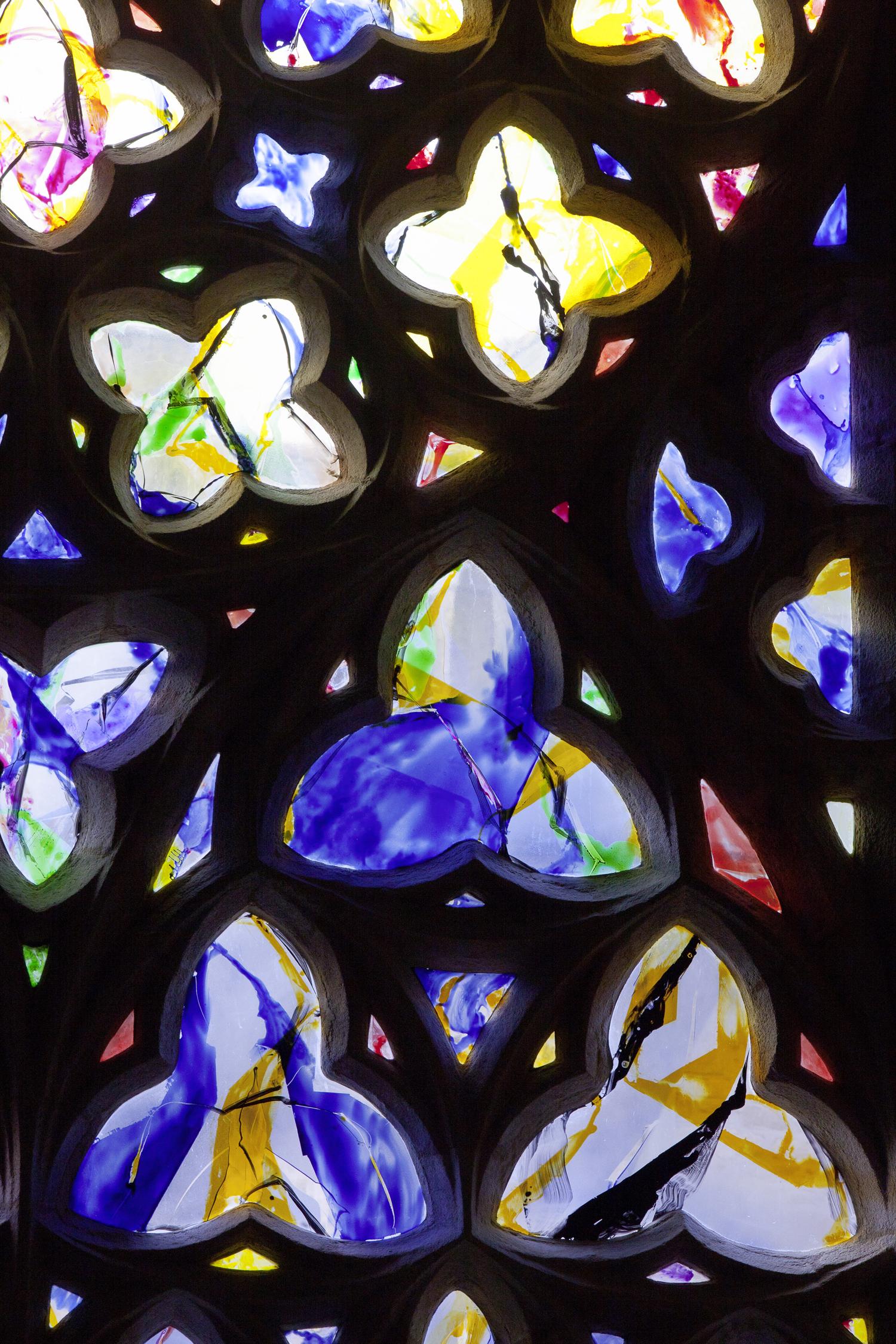 Kim En Joong, Chapelle Notre-Dame du Kreisker, Saint-Pol-de-Léon, 2013 (détail)