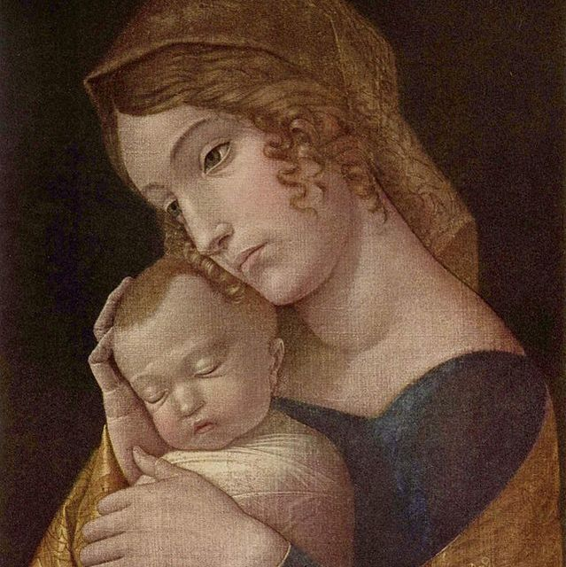 Andrea Mantegna virgin mary wikimedia commons