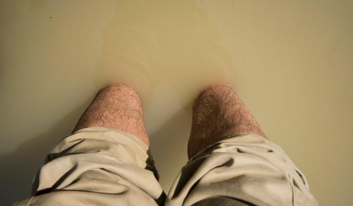 Les pieds immergés dans le Jourdain, il n'y a pas de mot pour décrire une telle expérience © Jeffrey Bruno