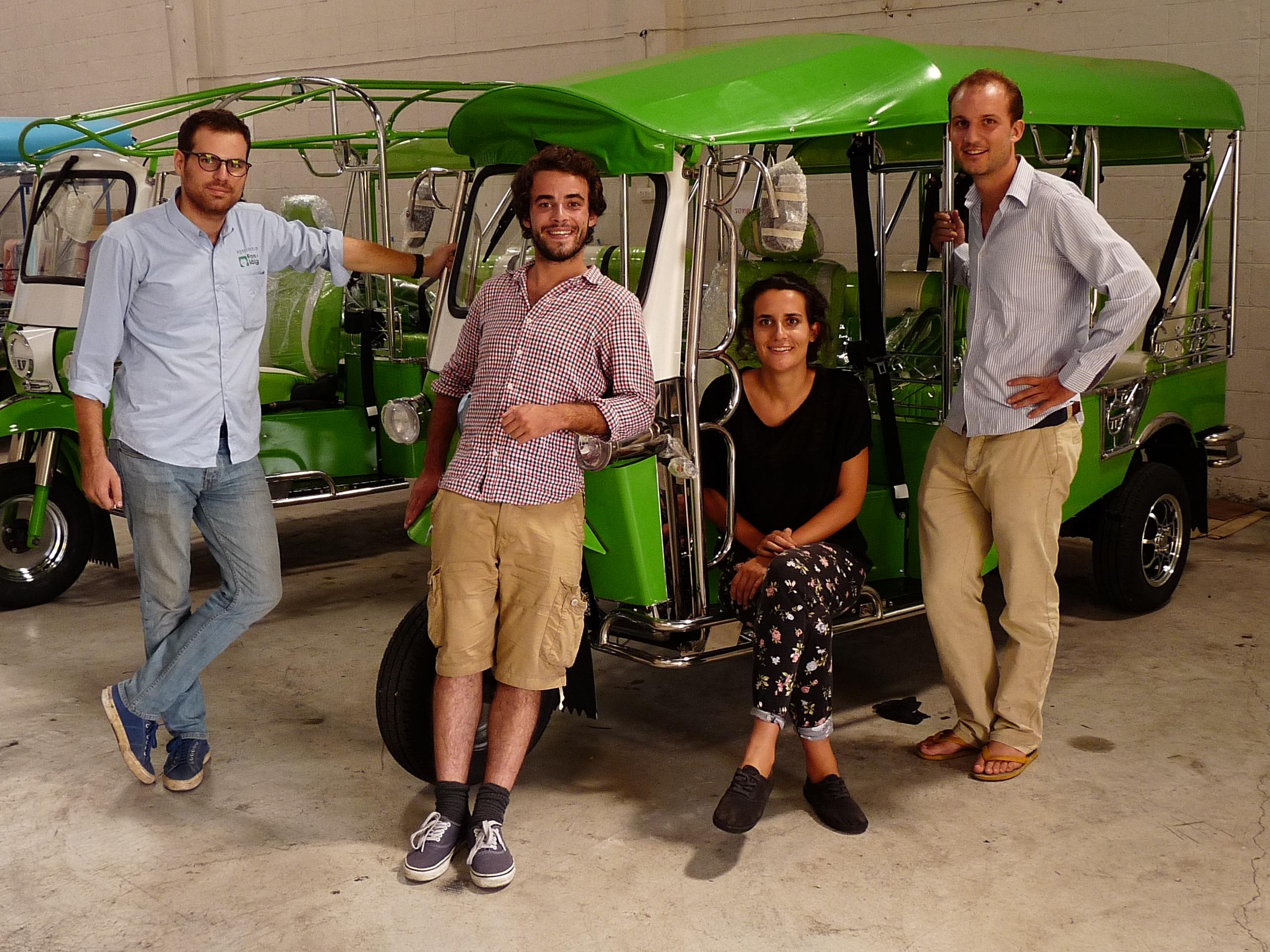 tuktuk usine