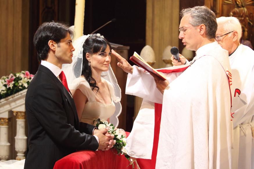 Irene Villa et son mari Pablo le jour de leur mariage © DR
