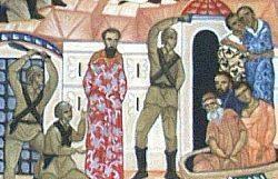 Représentation des martyrs des génocides arméniens et rwandais © Communauté Sant'Egidio