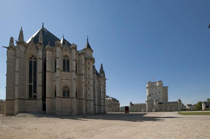 La Sainte-Chapelle et le donjon du château de Vincennes