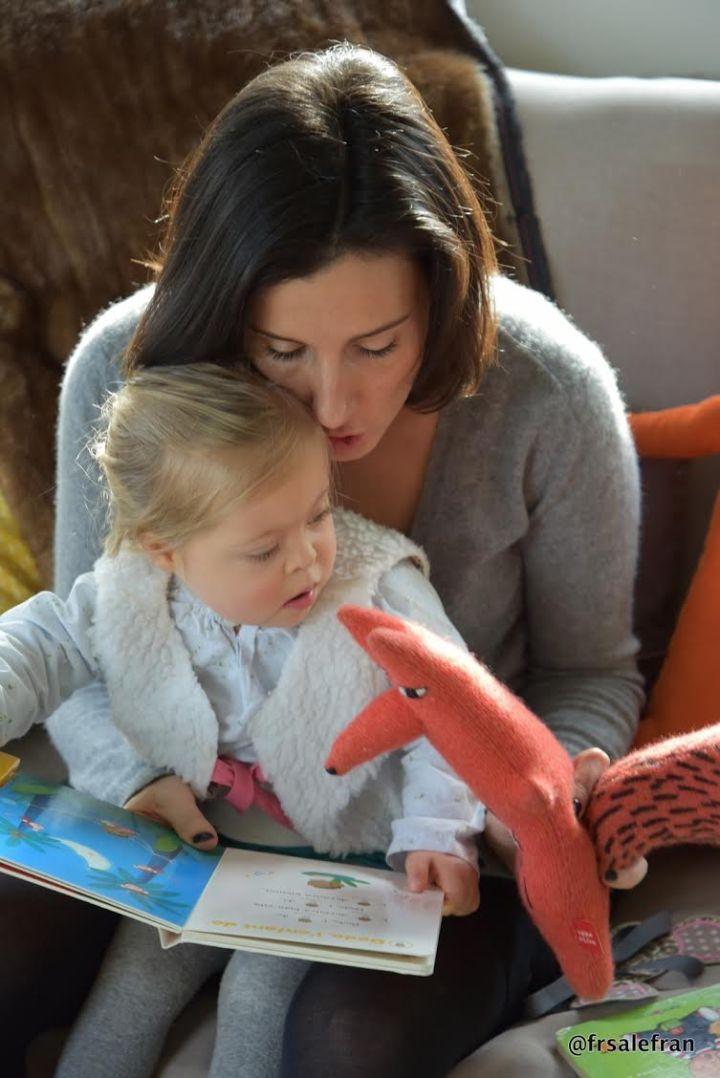 Complicité entre Clotilde et sa fille Marie ©frsalefran