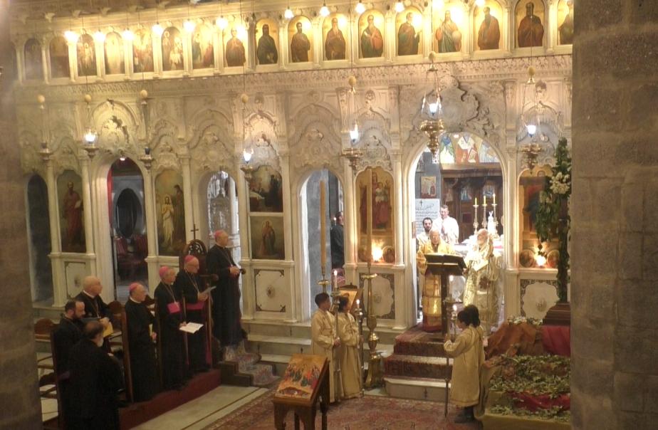 Messe Damas - Patriarche - Mgr Rey - évêques
