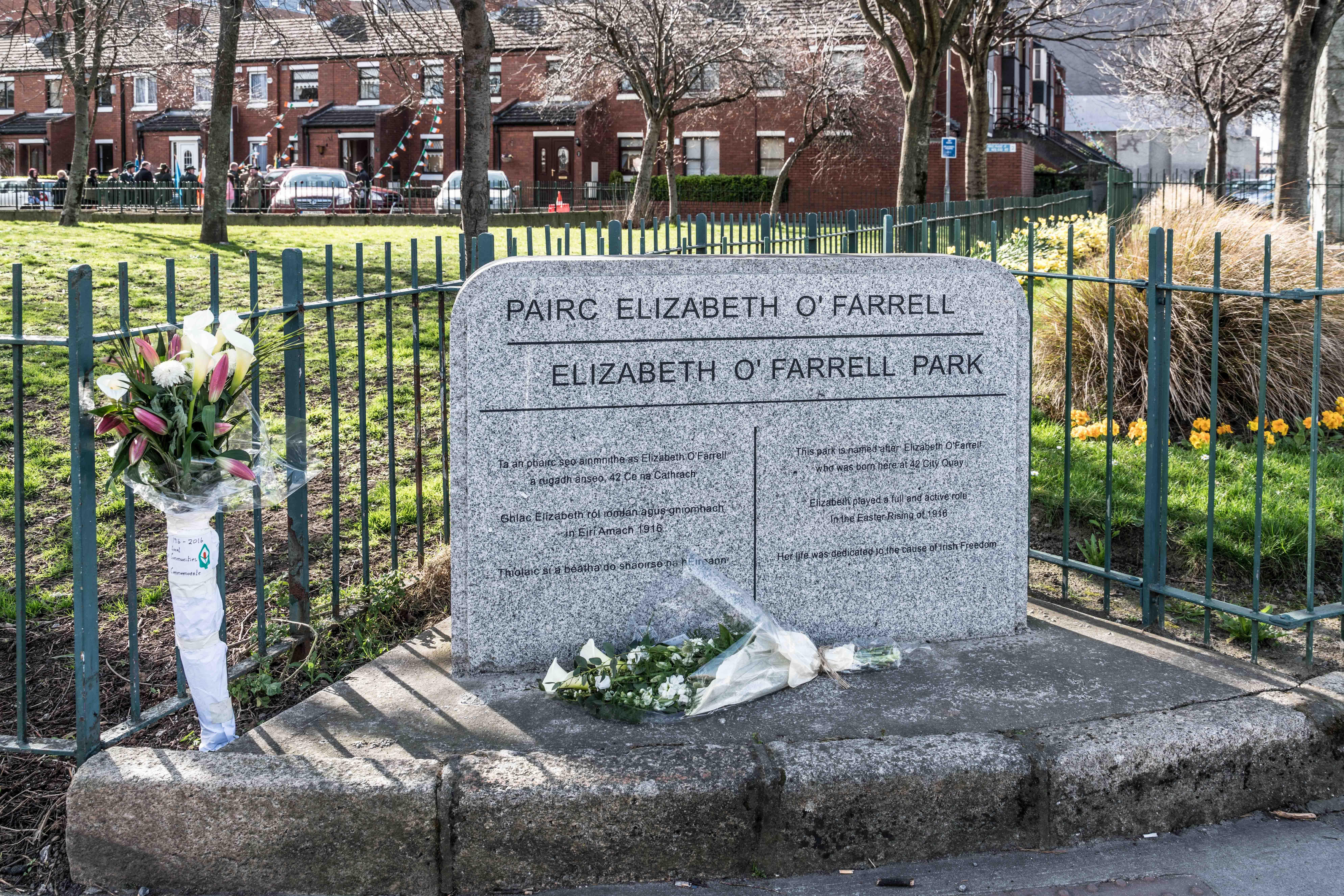 WEB ELIZABETH O FARRELL PLAQUE DUBLIN ©William Murphy CC