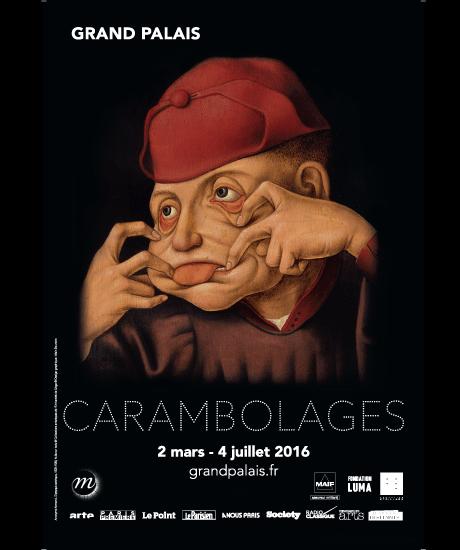 Exposition Carambolages au Grand Palais jusqu'au 4 juillet 2016. © Grand Palais