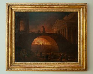 L'incendie de Rome d'Hubert Robert vers 1771, Muma Le Havre © Flickr