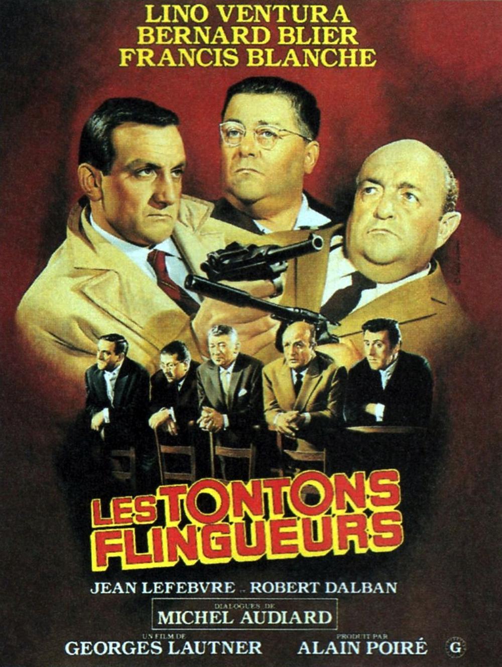 L'affiche des Tontons Flingueurs