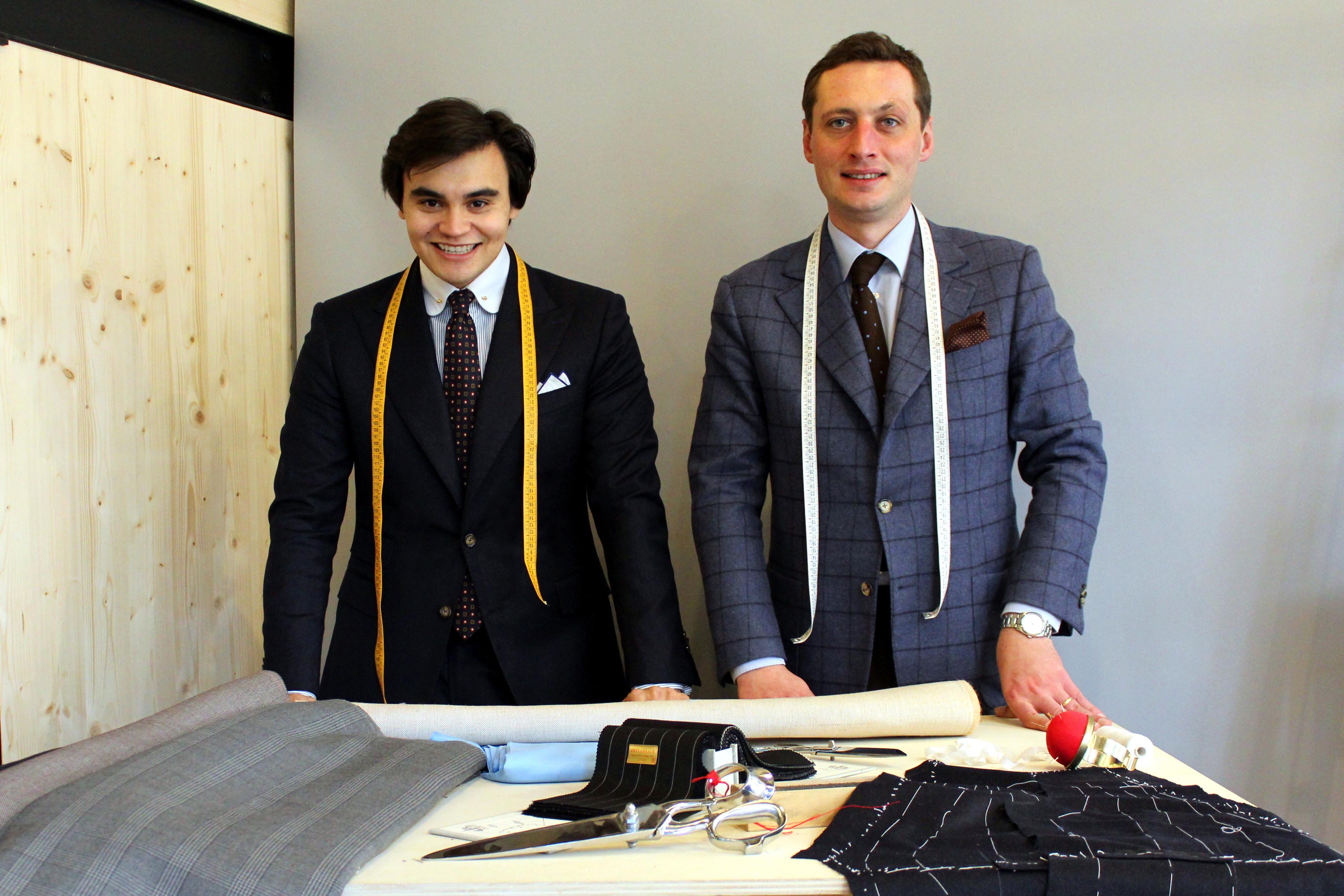 Benoît Aguelon et François Coffy, tailleurs © Blaise de Sébaste