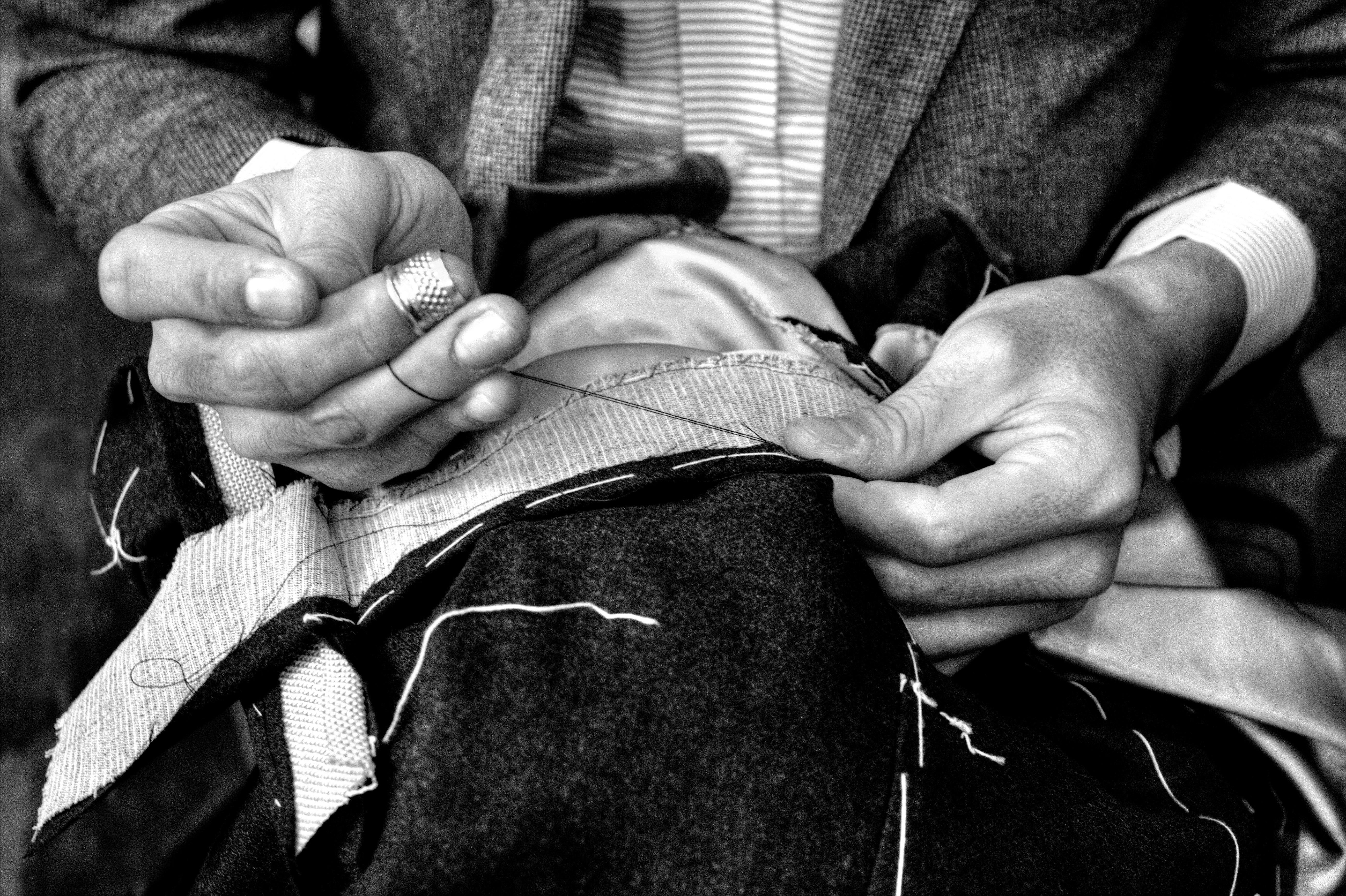 Les tailleurs sont à l'oeuvre © Blaise de Sébaste