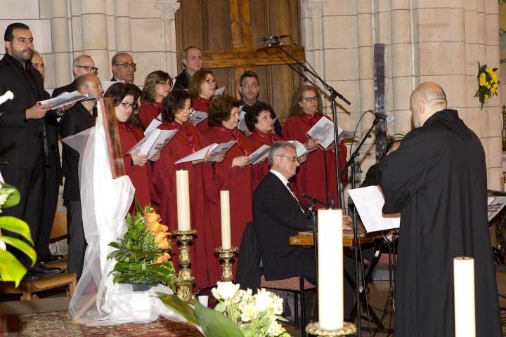 Choeur de l'Église maronite en concert ce mercredi 6 juillet à 21h à la cathédrale de Rouen. © DR