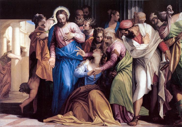 Conversion de Marie Madeleine, par Paul Veronese (1528-1588)