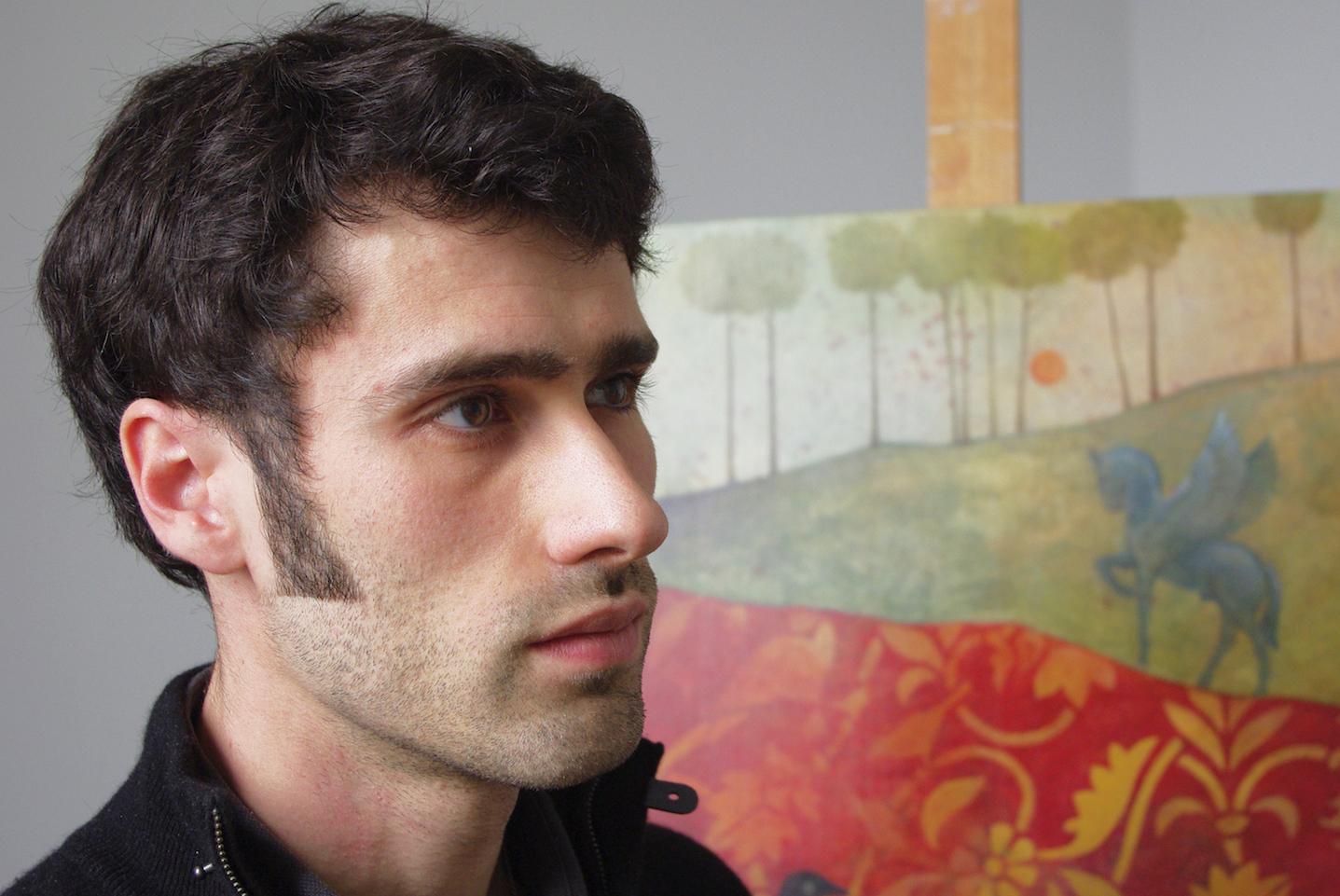 Portrait du peintre Augustin Frison-Roche. © Augustin Frison-Roche