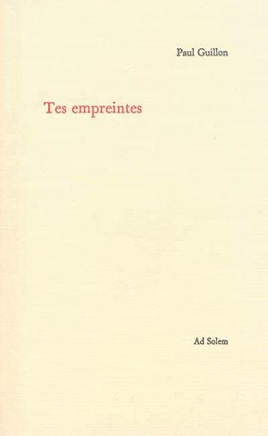 Tes empreintes © Ad Solem