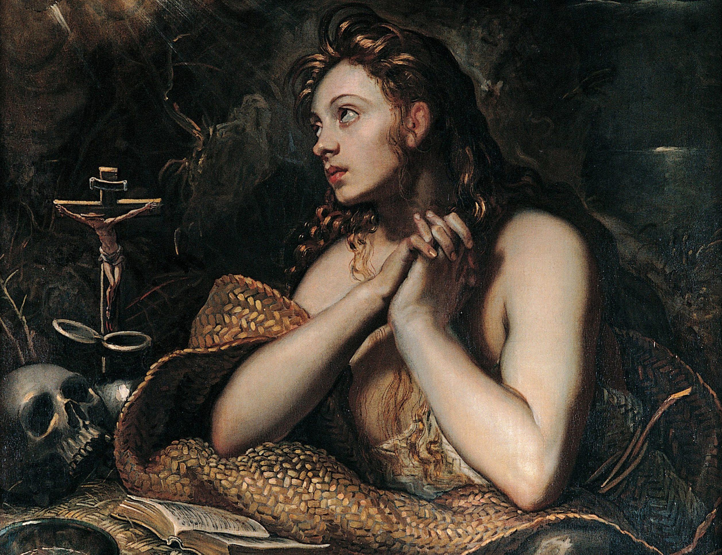 Marie Madeleine pénitente, par le Tintoret (1518-1594)
