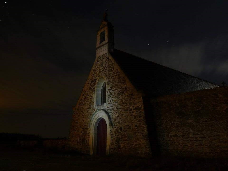 Façade de la chapelle © Reynald Sécher