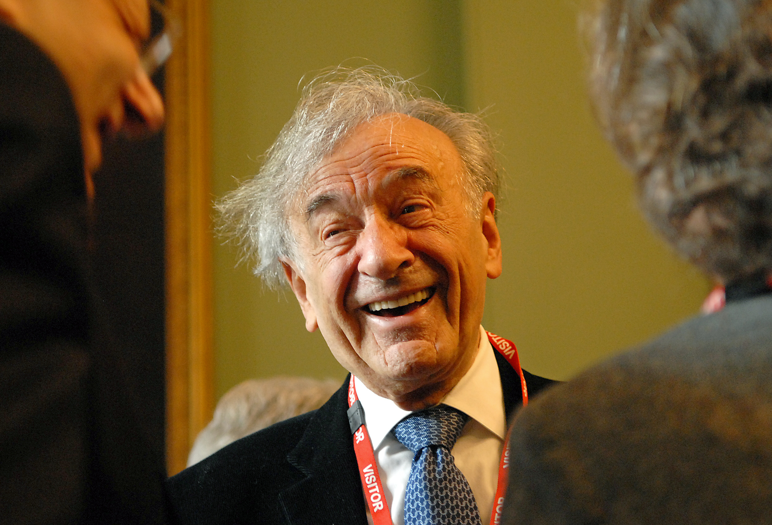 Prix Nobel de la paix Elie Wiesel s'est éteint à l'âge de 87 ans à son domicile new-yorkais. © BERTRAND LANGLOIS / AFP