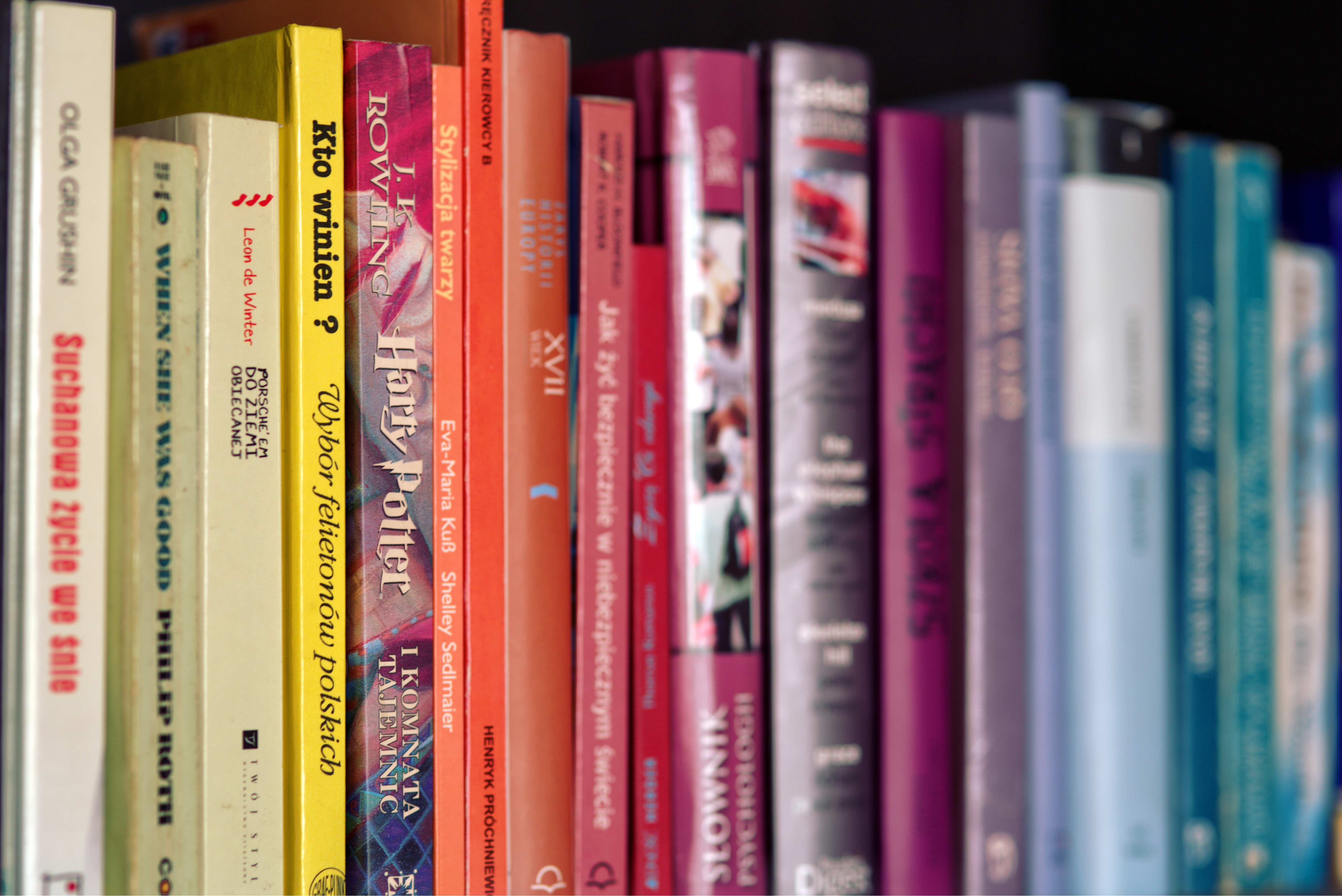 3 -Lecture -books-colorful-harry-potter - PEXELS