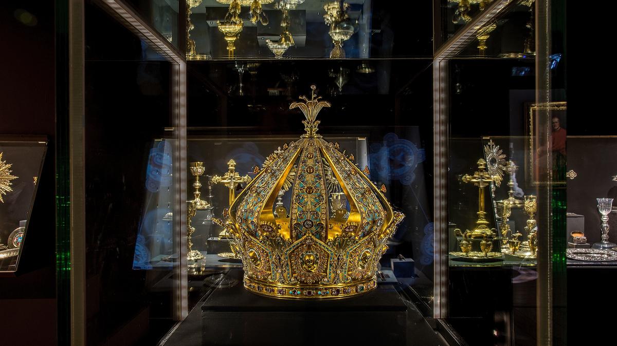 La couronne de la Vierge © Musée d'art religieux de Fourvière