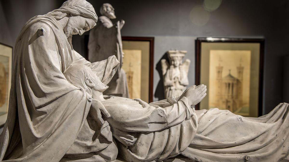La mort de saint Joseph © Musée d'art religieux de Fourvière