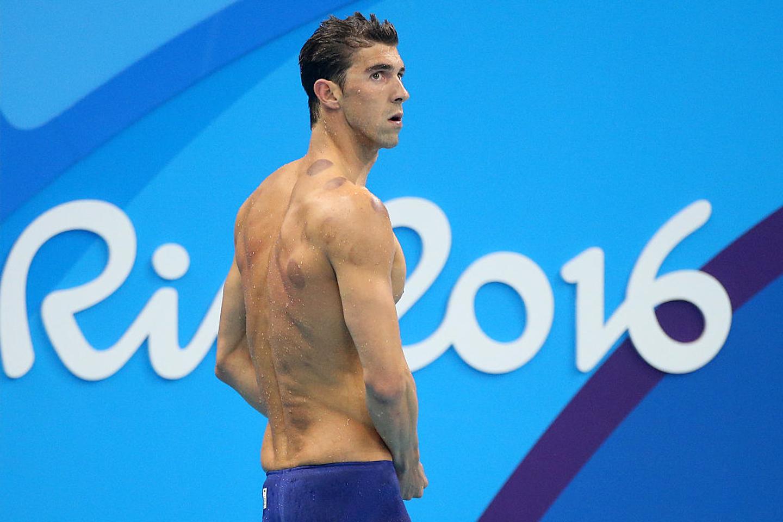 JO, RIO DE JANEIRO, BRÉSIL - 5 AOÛT :  le nageur américain Michael Phelps participe aux demi-finales du 200 mètres papillon. © Jean Catuffe | Getty Images