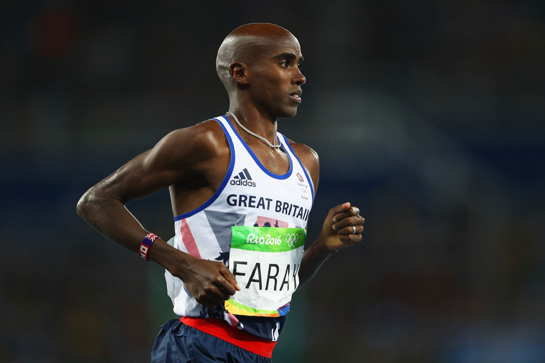 JO, RIO DE JANEIRO, BRÉSIL - 13 AOÛT :  Mo Farah court dans le stade olympique. © Paul Gilham |Staff | Getty Images