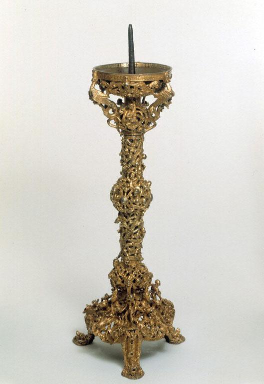 Le chandelier de Gloucester, 1107-1113, bronze doré, Angleterre, Victoria & Albert Museum © Victoria & Albert Museum