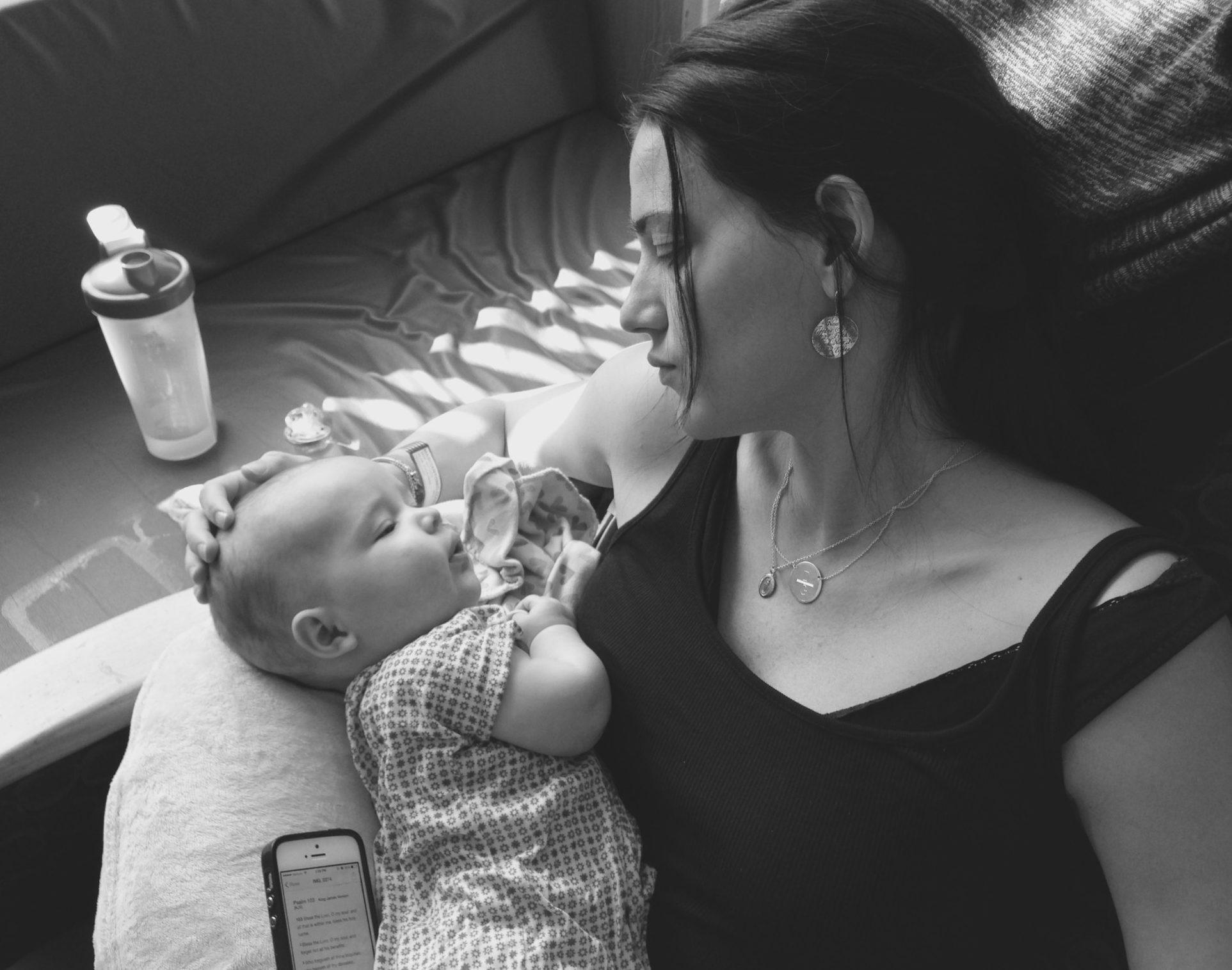 Gianna et sa mère, Kristen Masciantonio © Kristen Masciantonio