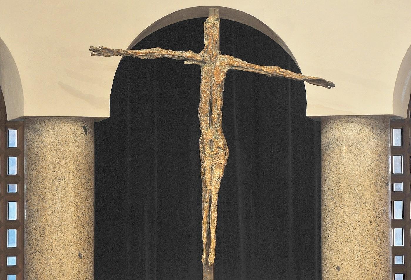 Germaine Richier, Le Christ d'Assy, Eglise d'Assy © LaCroix