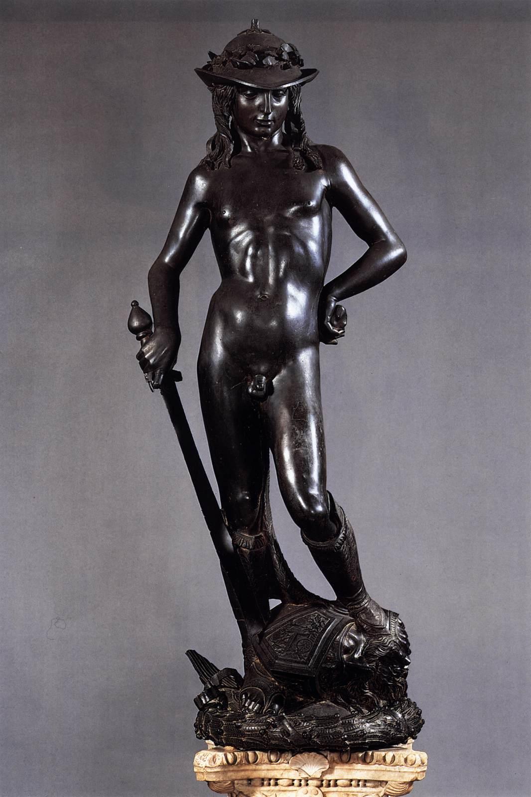 1Donatello, David, vers 1430-1432, Florence, Bargello © Wikimedia
