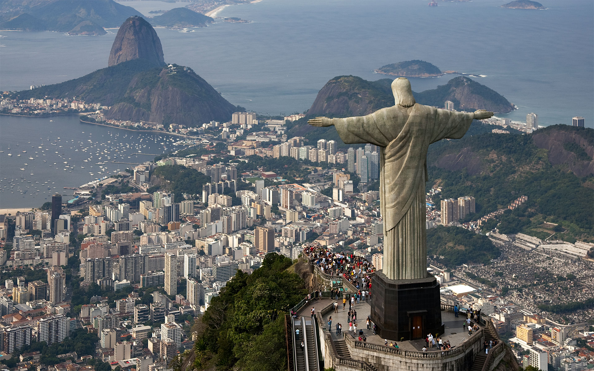 Cristo redentor, 1926-1931, Rio de Janeiro © Wikimedia