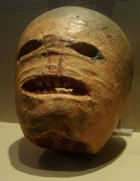 Une jack-o'-lantern traditionnelle irlandaise/Wikipedia