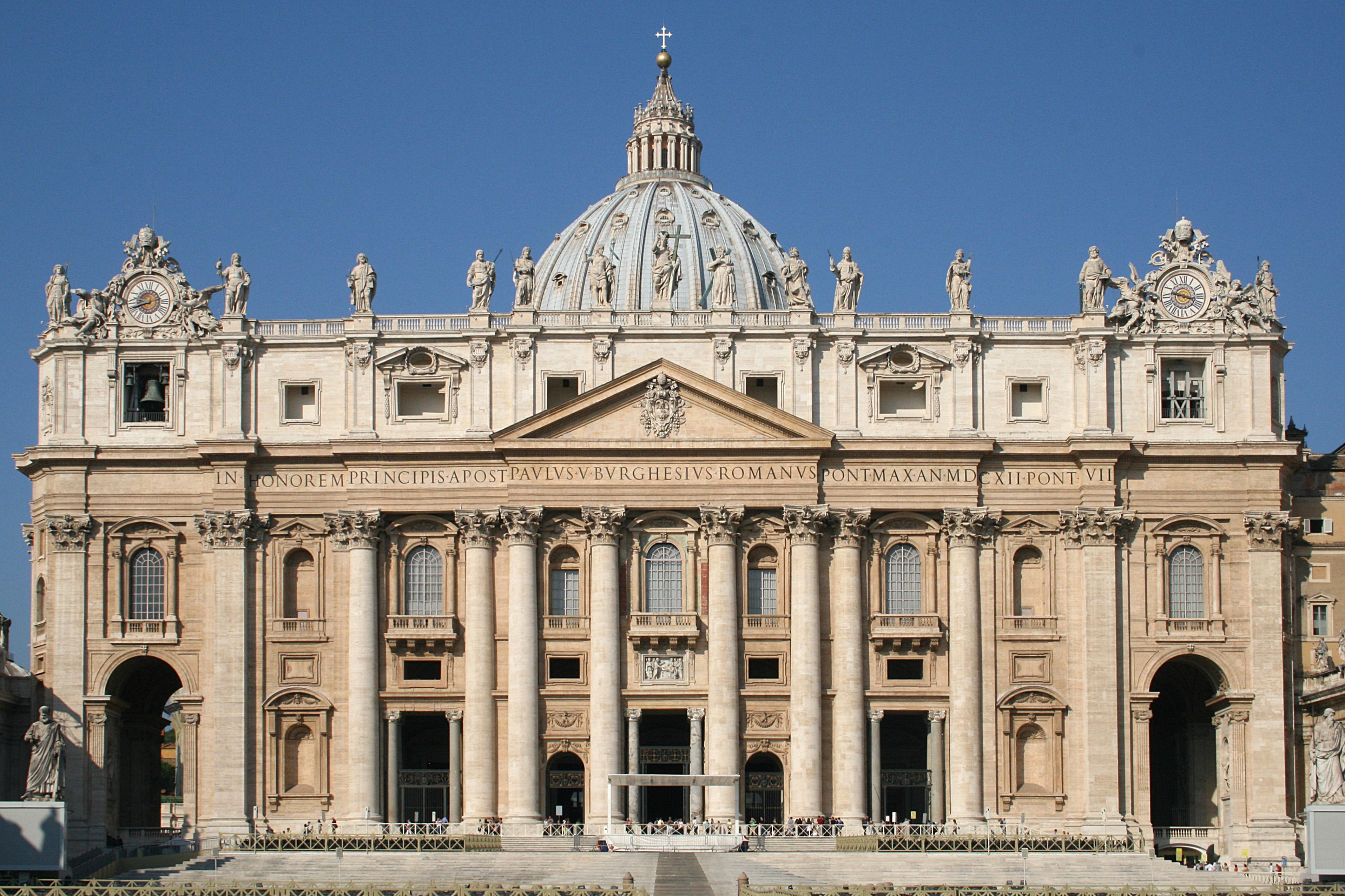 Basilique Saint-Pierre à Rome, 1506-1626 @ Wikipedia