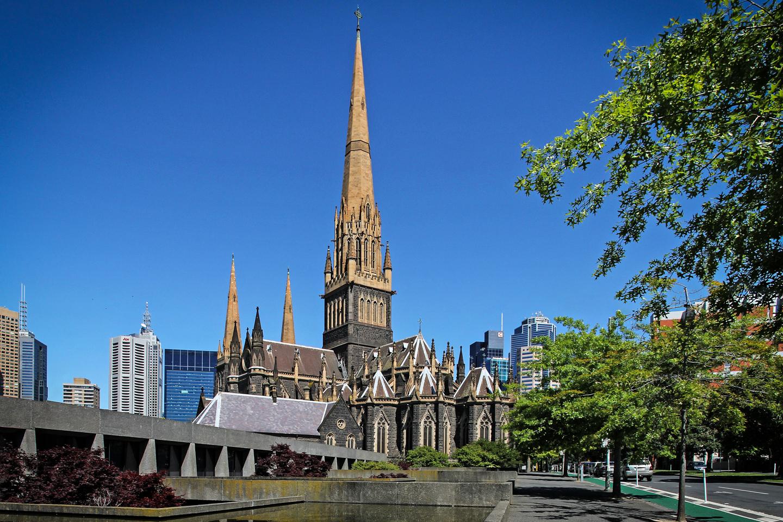 Cathédrale Saint-Patrick, Melbourne, Australie, 1858-1939 © DonaldytongCC