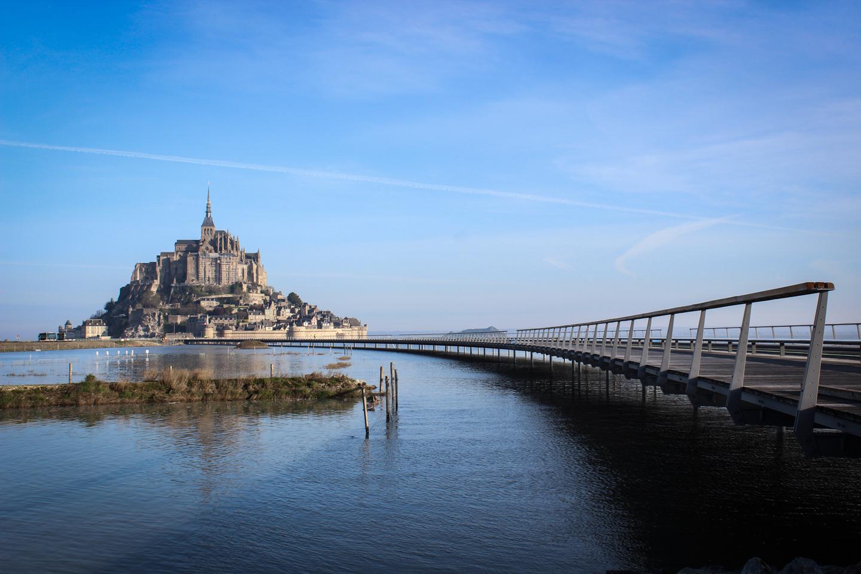 Mont Saint-Michel, dès le VIIIe siècle © Mathias Neveling CC
