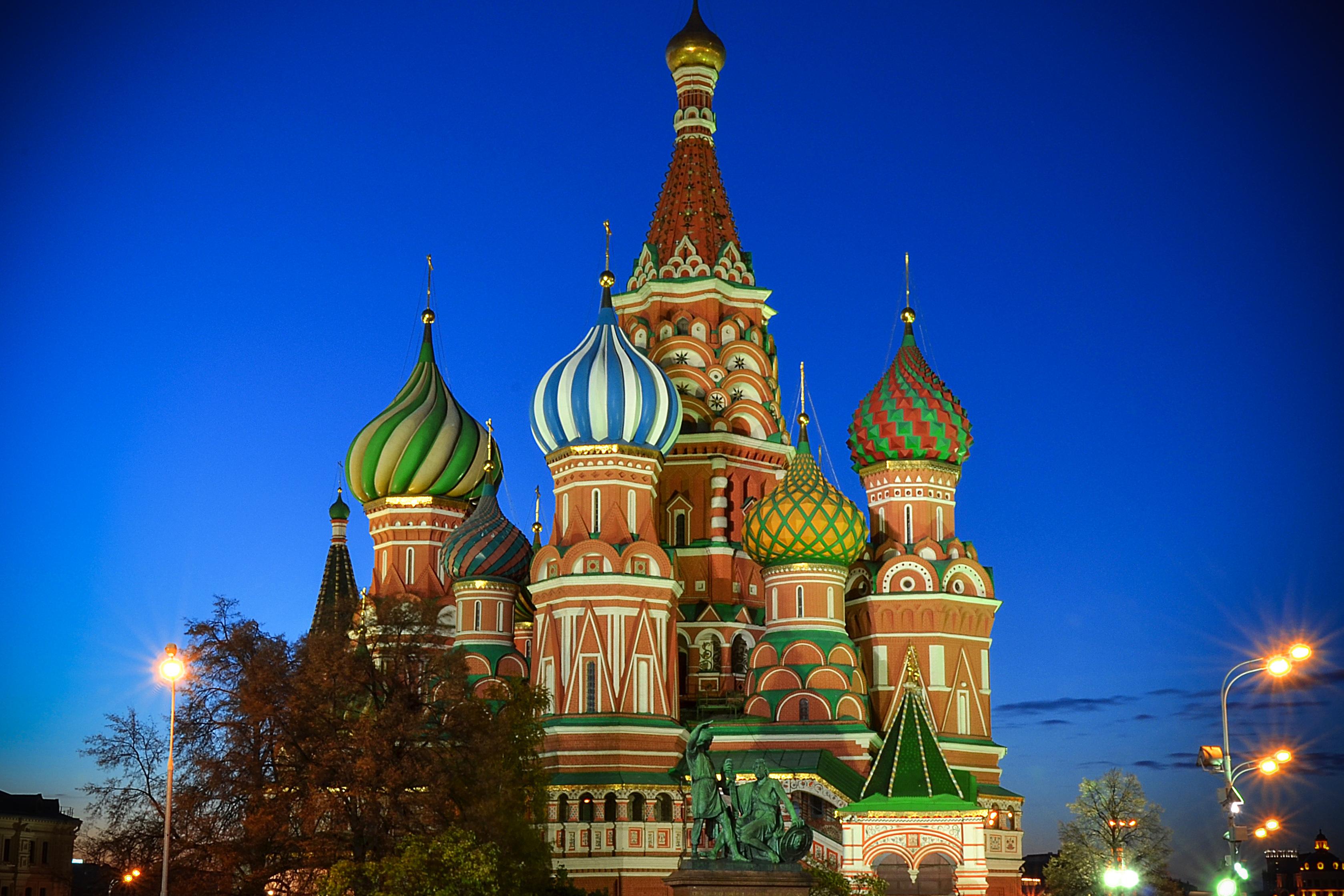 Cathédrale Saint-Basile-le-Bienheureux, Moscou, Russie XVIe © Sergey Korovkin 84 CC