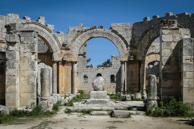 Eglise Saint-Siméon-le-Stylite, Syrie, Ve siècle  © Bernard Gagnon CC