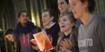 19 novembre 2015 : Messe de rentrée des étudiants d'Ile-de-France à la cathédrale Notre-Dame, Paris (75), France.