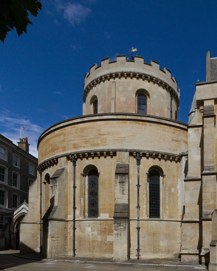 Église du Temple à Londres © Wikipedia