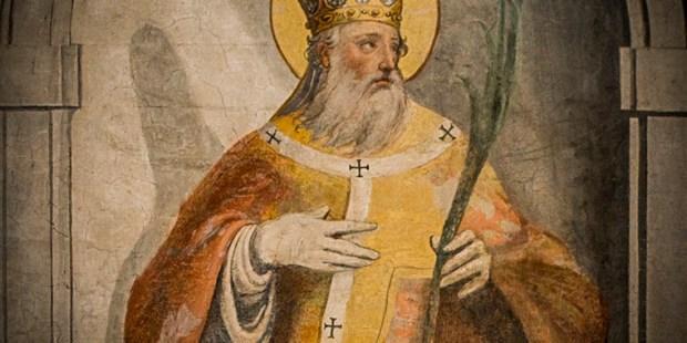 Les martyrs de l'Eglise primitive - À lire ! Merci mon Dieu de pouvoir encore professer notre foi ♥ - Page 2 Web-saint-nov-23-pope-clement-i-c2a9-fr-lawrence-lew-cc