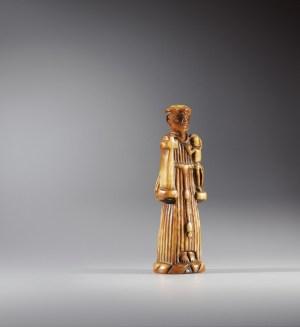 Pendentif de Toni Malau (saint Antoine), XVIIIe, ivoire, Donald and Adele Hall collection © Sotheby's / Art Digital Studio