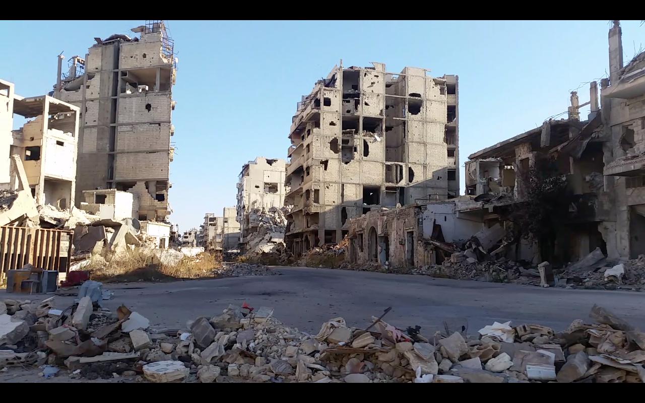 Le quartier d'el-Hamidiyeh à Homs © Alexandre Meyer