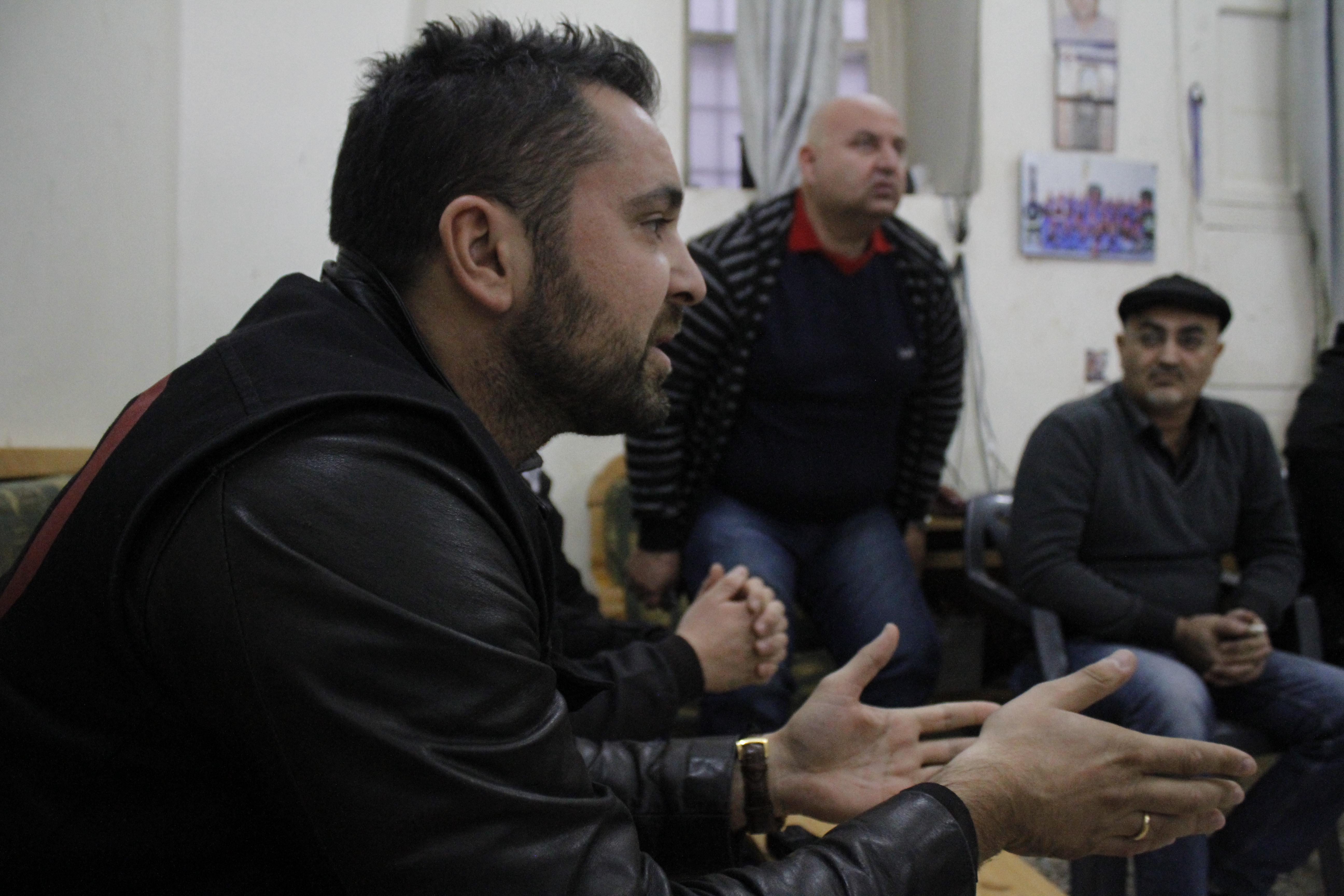 Alexandre Goodarzy, chef de mission SOS Chrétiens d'Orient en Syrie © SOS Chrétiens d'Orient